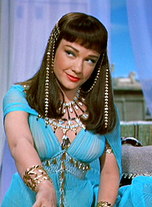 Anne Baxter as Nefretiri