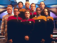 Star Trek Voyager Season 1 Crew