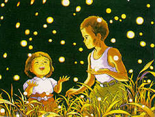 Grave of the Fireflies - Catching Fireflies
