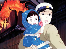 Grave of the Fireflies Seita Setsuko