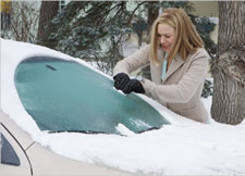 New In Town: Ice Scraping