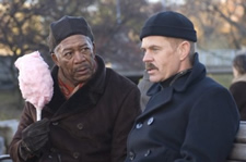 The Maiden Heist: Morgan Freeman, William H. Macy