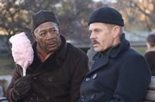 The Maiden Heist: Morgan Freeman, William H. Macy