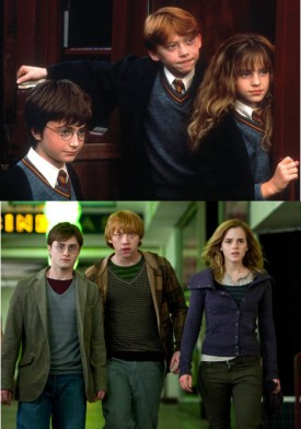 Deathly Hallows: Harry, Ron, Hermione Grown Up