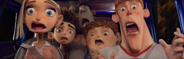 The reaction of the audience, upon realizing they paid to watch ParaNorman.